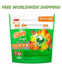 Gain Flings Island Fresh Laundry Detergent Pods 14 CT WORLD WIDE SHIPPING