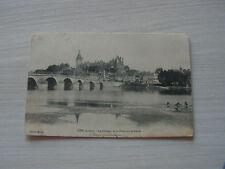 carte postale  gien le chateau    vers 1900