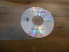 CD Indie Acres Of Lions - Collections (10 Song) Promo FIERCE PANDA disc only