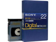SONY BCT-D22 (small) DIGITAL BETACAM Profi Video Kassette NEU (world*) 000-570°