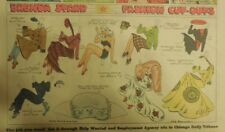 Brenda Starr Sunday with Large Uncut Paper Dolls from 11/15/1942 Full Size Page