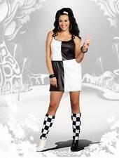 Hairspray Mod Glam Dress Groovy Go Dancer Disco Costume Women Plus Size 1X/2X