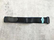 Genuine Timex Blue & Black 20mm x 25mm Nylon Fast Strap No 1476