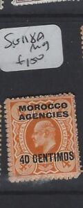 MOROCCO AGENCIES  (P1305B) KE  40C      SG 118A      MOG