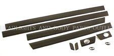 New! AUDI 100 C4 91 - 94 A6 94 - 97 Upper Door Moulding Molding Trim Set