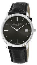 Frédérique Constant Slimline Men's FC-220NG4S6 Quartz Black 37mm Watch
