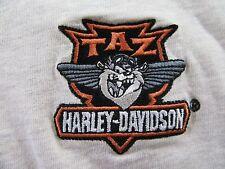 Harley Davidson / Warner Bros. TAZ Embroidered S/S Polo Shirt Size L