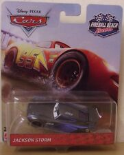 Disney Pixar Cars ~ Jackson Storm ~ bola de fuego Beach Racers DIE-CAST