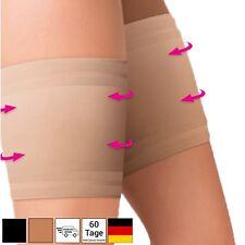 Elastische Oberschenkelbänder Gegen Reibung Anti Chafing - Schwarz Beige Gr. 3-8