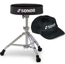 Sonor DT 4000 Drumhocker DT4000 Schlagzeug Hocker + Sonor Cap