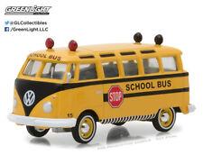 1:64 GreenLight *CLUB V-DUB R6* SCHOOL BUS 1964 Volkswagen VW Samba Bus NIP