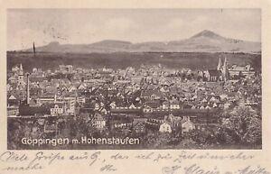 AK Göppingen mit Hohenstaufen, Kaiser-Jubiläums-Karte 1913