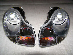 97-04 Porsche Boxster 986 99-01 996 911 Xenon Headlight Pair Headlamp OEM Light
