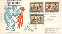 Vaticano 1962 FDC Venetia Club Natale (E)