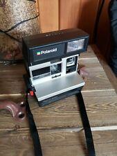 Vintage Polaroid Spirit 600 Instant Camera With Neck Strap With Film