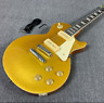 2020 New Lp Gold Top Electric Guitar P90 Pickups Solid Mahogany Body Thin Neck