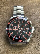 Rare Invicta Swiss Made Chronograph Diver watch Model 1022