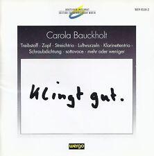 Carola Bauckholt • Klingt gut CD