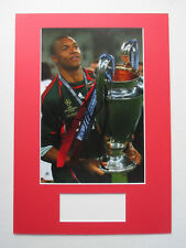 A.C. MILAN LEGEND DIDA NELSON DE JESUS SILVA SIGNED A3 MOUNTED PHOTO DISPLAY-COA