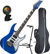 Ibanez RG450DX Starlight Blue w/Edge-Zero II Electric Guitar w/Bag,Stand&Tu