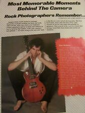 The Rolling Stones, Keith Richards, Full Page Vintage Clipping