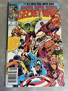 Marvel Super Heroes Secret Wars 1 May 1984 VG/FN