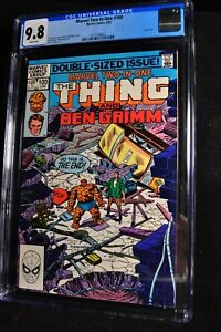 Marvel Two-In-One #100 - Marvel Comics - 6/83 - CGC 9.8 - White Pages