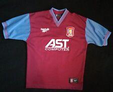 Vintage Reebok Aston Villa FC Jersey Size 38/40 Small Medium Football AST 90s