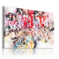 ABSTRACT PAINT MODERN DESIGN CANVAS WALL ART PICTURE  AB787 NO FRAME MATAGA .