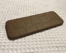 Longaberger Pottery 30074 Woven Pattern Bread Basket Warmer Brick