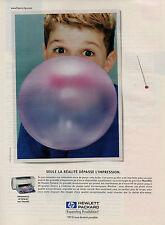 Publicité 1999  Imprimante HP DESKJET avec PhotoREt  HEWLETT PACKARD