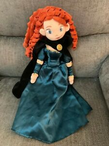 "Brave Princess  Merida Soft Toy Doll  19"" Disneyland Paris Disney"