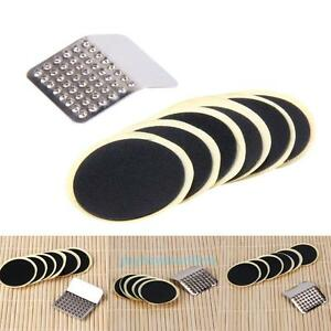 Cycling Bicycle Bike Puncture Patches Repair Kit Tire Tyre Tube Glueless Patches