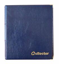 Álbum De Monedas Azul 300 monedas mezcla Tamaños Libro Carpeta Colector de gran capacidad