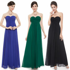 Chiffon Hand-wash Only Strapless Dresses for Women