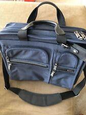 Tumi Alpha 2 Expandable Laptop Bags - Blue $375 MSRP