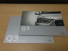 Prospekt / Katalog / Brochure Audi Q3 04/2012 + Preisliste