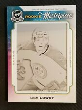 2014-15 UPPER DECK THE CUP ROOKIE MASTERPIECES ADAM LOWRY RC PRINTING PLATE 1/1