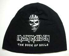 IRON MAIDEN beanie Hat printed ( the book of souls Logo)  official music band