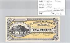 BILLET ESPAGNE - 1 PESETA 1936 - NEUF !!!