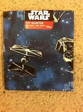 Fabric FQ Star Wars Fighter Ship Blue Space Quilt Cotton Fat Quarter 18 x 21 NEW