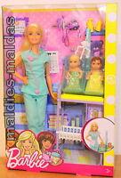 Barbie Ich wäre gern Kinderärztin Spielset DVG10 NEU/OVP Puppe Reality