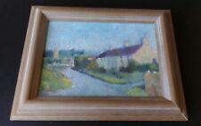 ORIGINAL OIL PAINTING - WEST COUNTRY,SOMERSET BY ARTIST MARION BARSTOW.