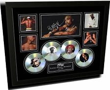 TUPAC CDS SIGNED LIMITED EDITION FRAMED MEMORABILIA