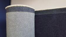 denim blue fabric  18 x 54 inch