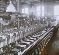 Weaving Taffeta Silk Ribbons, Paterson, New Jersey, Magic Lantern Glass Slide