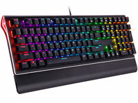 Rosewill RGB Mechanical Gaming Keyboard, Kailh Brown Switches, NEON K85 RGB BR
