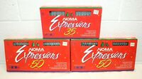 Vintage NOMA EXPRESSIONS Clear Bulb String Strand Lights 3 packs! 1x 35 2x 50