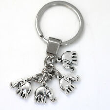 Vintage Funny Elephant Gold Keychain Keyring Key Charm Keyfob Gift Souvenir  new