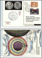 1957 Schweiz Suisse Ballonpost Schlieren Zürich Pro Juvente Freiballon Karte